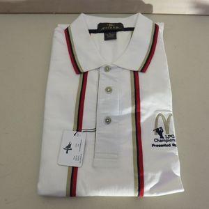 NWT Mens Polo Shirt McDonalds LPGA Large Short
